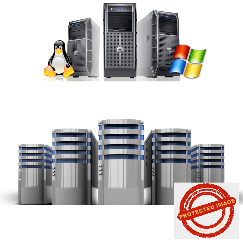 web hosting services Image of servers
